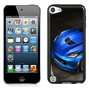 New Personalized Custom Designed For iPod Touch 5th Phone Case For Chevrolet Corvette Z06 Blue Phone Case Cover