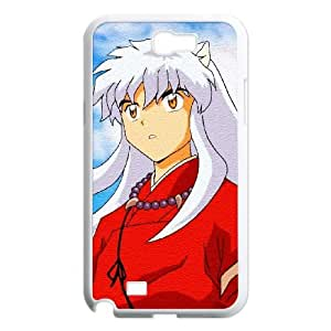 Inuyasha Samsung Galaxy N2 7100 Cell Phone Case White W9878628
