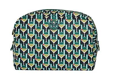 Tory Burch Printed Nylon Large Make up Bag Womens Handbag