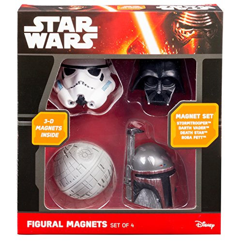 3d Magnet (Star Wars 3D Magnets - Set of 4, including Darth Vader, Boba Fett, and Death Star)
