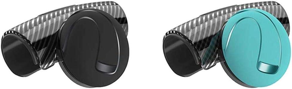 LNIEGE Voiture Volant Bouton Roue Spinner Puissance poign/ée Boule en Caoutchouc BlackHandle Grip Ball Installation Facile contr/ôle Flexible