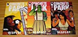 #4: Concrete Park: R-E-S-P-E-C-T #1-3 VF/NM complete series by Living Single actress ; Dark Horse