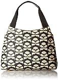Orla Kiely Spring Bloom Classic Zip Shoulder Bag, Charcoal