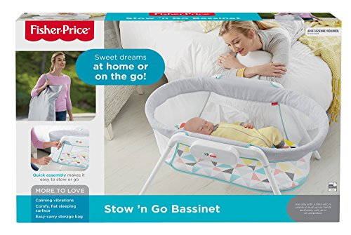 Amazon.com   Fisher-Price Stow  n Go Bassinet   Baby 0e72e9b17