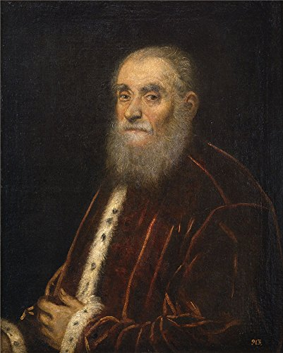 Oil Painting 'Tintoretto Jacopo Robusti Marco Grimani 1576 83' 30 x 37 inch / 76 x 95 cm , on High Definition HD canvas prints is for Gifts And Foyer, Game Room And Home Office Decoration
