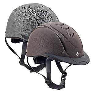 Ovation Deluxe Schooler Helmet Matte Crackle Helmet Charcoal Small/Medium