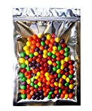 Wekoil Large Mylar Bags Clear Zipper Lock Aluminum Foil Bags Food Saver Resealable Bags Packaging Plastic Zip Pouches Bulk Coffee Candies Electronic Accessories Foil Lined Seal Wrapper Pack Of 25