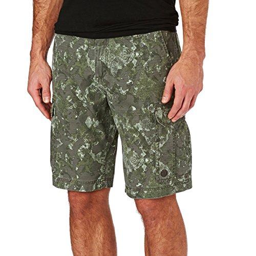 Element Cargo Shorts - Element Snyder Cargo Shorts - Olive Black