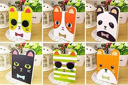 Happy Star - Cuaderno de notas con forro para gatos, diseño ...