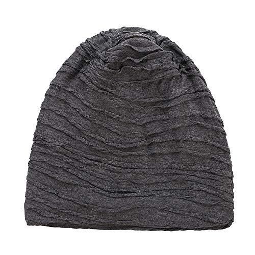 gris elegante diseño Gorra funda de gorro calavera Beanie de Spring Slouchy Fever B S7faq7F