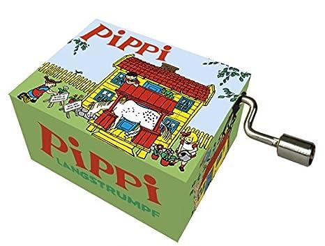 Fridolin - 58347 - Caja de música - Pippi Calzaslargas: Amazon.es: Juguetes y juegos