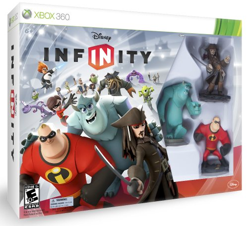 DISNEY INFINITY Starter Pack Xbox 360 (Base Player Set Starter 2)