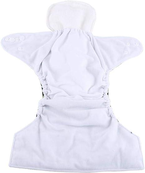 10pcs Pañales reutilizables para bebé, Pañales de algodón suave ...