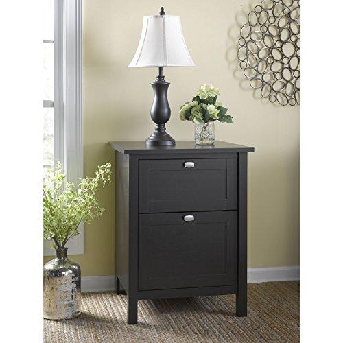 Bush Furniture Broadview 2 Drawer File Cabinet, Espresso Oak