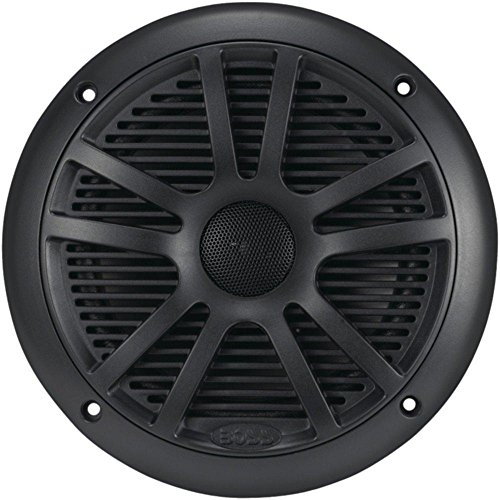 BOSS AUDIO MR6B Marine 6.5 Dual-Cone Speakers (Black) con...