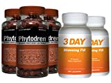 Phytodren 3 Bottles & 2 FREE 72hr Slimming- Hardcore Weight Loss - Burn Fat - Boost Energy Levels - Eat Less