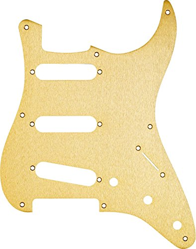 Fender Vintage-Style Pickguard, Stratocaster, 8-Hole - Gold Anodized