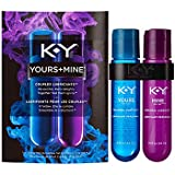 K-Y Yours + Mine Couples Lubricant, Two 1.5 fl oz Bottles