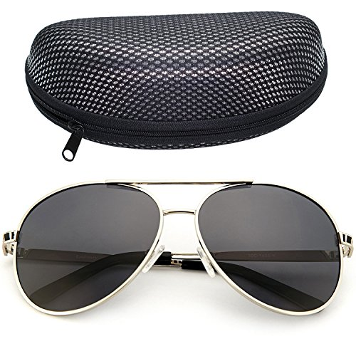 LotFancy Aviator Outdoor Sunglasses Women