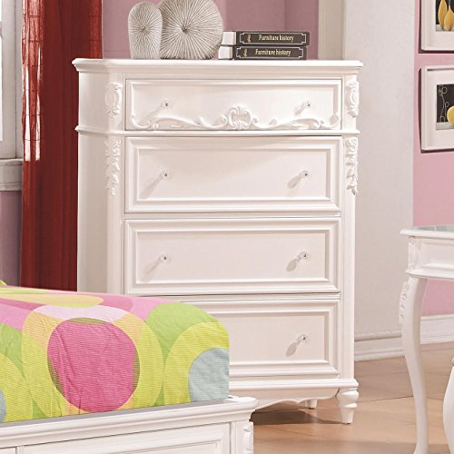 Coaster 400725 Home Furnishings Chest, Painted Pink