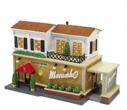 Christmas in the City Village from Department 56 The Macambo