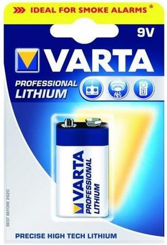 Varta Professional Lithium 9 V Block Battery Baumarkt