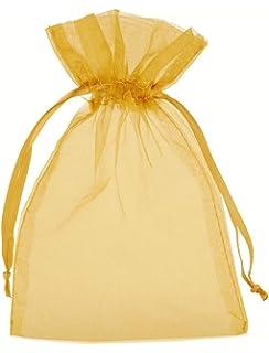 Dekoration Organzas/äckchen Unifarben 10 Organzabeutel Produktpr/äsentation Gr/ö/ße 30x20 cm Creme die ideale Geschenkverpackung mit Satinband zum Zuziehen Schmuckbeutel