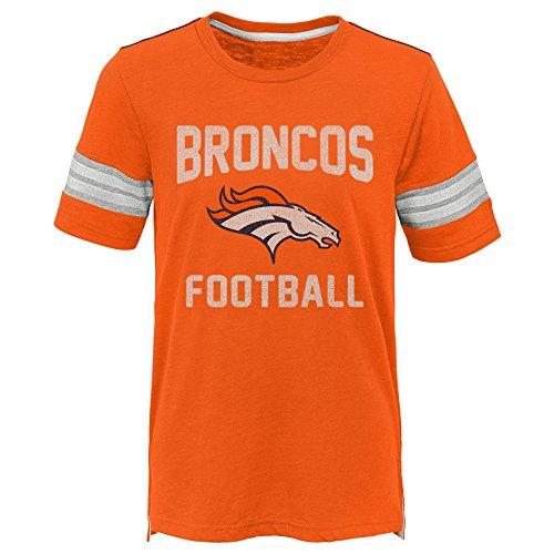 - Outerstuff NFL NFL Denver Broncos Kids Prestige Short Sleeve Crew Neck Tee Orange, Kids Medium(5-6)