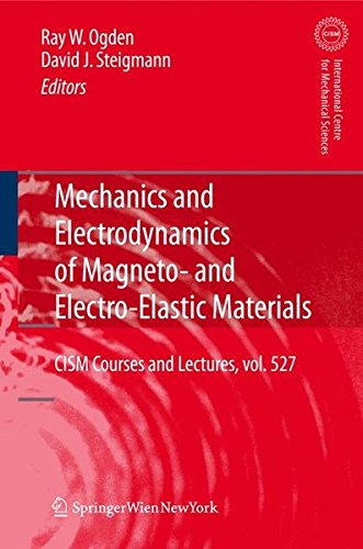 Mechanics and Electrodynamics of Magneto- and Electro-elastic Materials (CISM International Centre for Mechanical Scienc