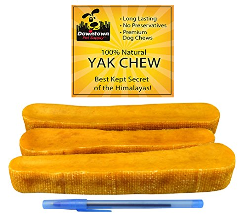 Downtown Pet Supply Himalayan Yak Dog Chew, 1 lb from Downtown Pet Supply