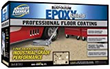 Rust-Oleum 238466 Professional Floor Coating Kit, Dunes Tan