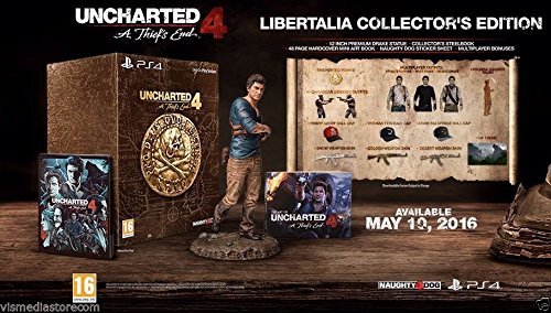 Uncharted 4: A Thief's End - Libertalia Collector's Edition (PS4)