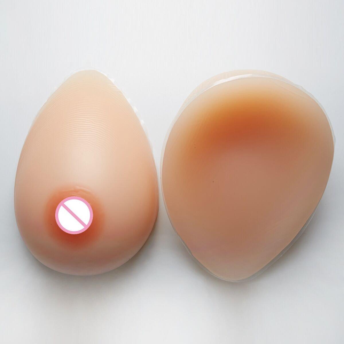 4358444e35006 Amazon.com   1000g pair Breast Forms Silicone Breast Prosthesis Fake Breast  Crosdresser   Baby