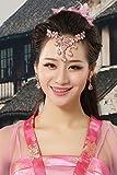 HJPRT fleeting dance red diamond necklace pendant ornaments suit woman generous gift money earrings earings dangler eardrop hair accessories (pink