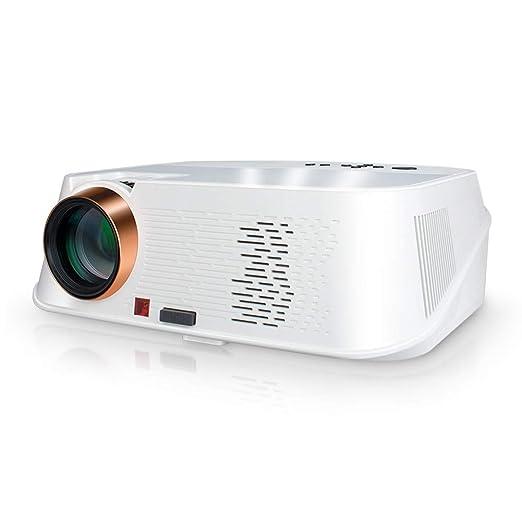 MSQL Proyector de Video Full HD Proyector portátil de Cine en casa ...
