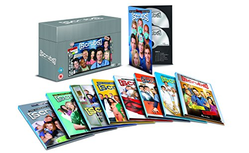 (Scrubs - Complete Collection: Season 1-9 [DVD] [Region2] Requires a Multi Region)