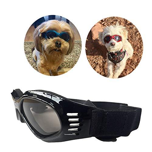 PetBoBo Pet Waterproof Windproof Anti-Fog Eye Protection Goggles, Stylish Pet Dog UV Goggles...