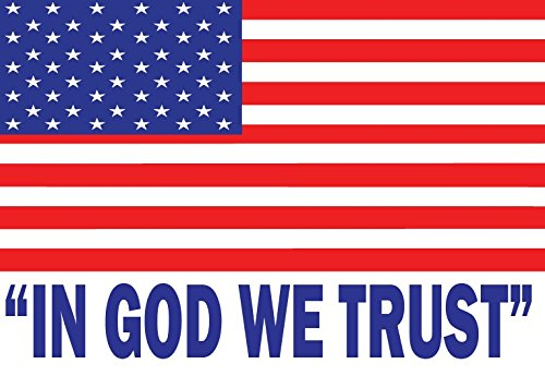 IN-GOD-WE-TRUST-auto-car-bumper-window-sticker-decal-graphic-vinyl-8-X-55