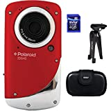 Polaroid ID640-RED-KM Underwater Digital Video Camera (Red)