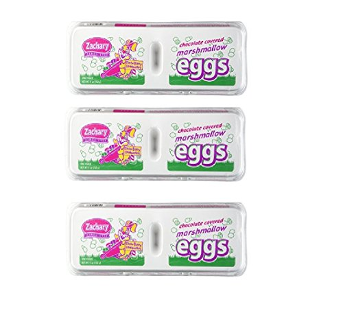 Marshmallow Eggs - Zachary Chocolate-Covered Marshmallow Eggs (1 Doz)