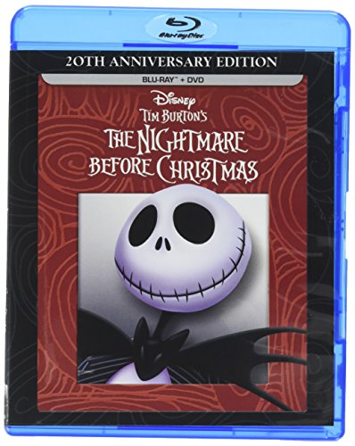 Tim Burton's The Nightmare Before Christmas - 20th Anniversary Edition (Blu-ray / DVD Combo Pack) -