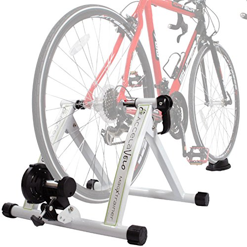 Hot Sale! Portable Indoor Exercise Magnetic Resistance Bicycle Trainer Stand Bike 3 by Polarbear's Shop