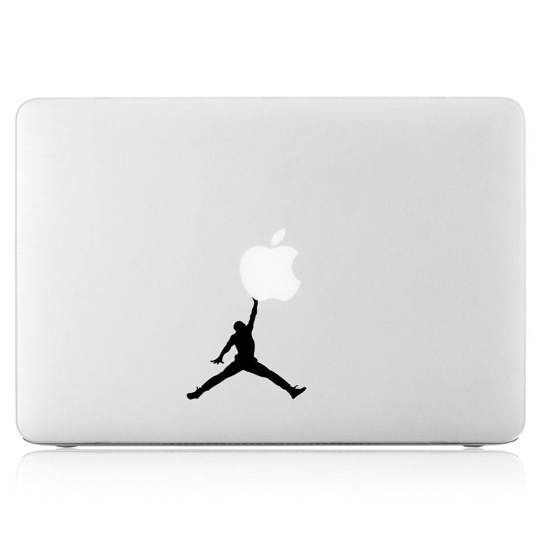 e4b02d770f8 Amazon.com: Air Jordan Jumpman Logo - Apple Macbook Laptop Vinyl Sticker  Decal: Computers & Accessories