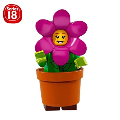LEGO Series 18 Collectible Party Minifigure - Flower Pot Girl (71021): Toys & Games