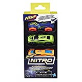 Nerf Nitro Foam Car 3-Pack, Set 1