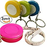 Best Retractable Tapes - GoProver 3 pack Retractable Tape Measure Double-Scale 60-Inch/150cm Review