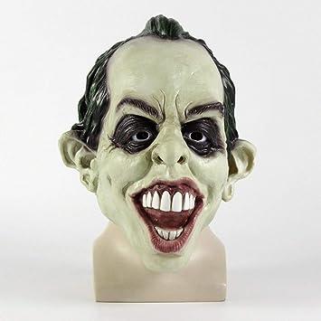 Máscara De Terror De Lujo Un Fantasma Persiguiendo Máscara Oscura Payaso Cabeza De Látex Animal Máscara