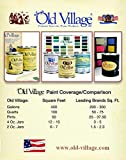 Old Village Satin Black Water-Based Paint Exterior
