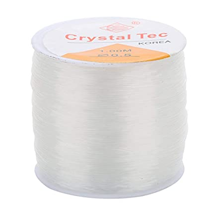 0.5MM 100M Stretchy Elastic Crystal String Cord Thread Jewelry Making Line UK