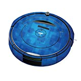 MightySkins Skin for iRobot Roomba 690 Robot Vacuum - Blue Retro | Protective, Durable, and Unique Vinyl Decal wrap Cover | Easy to Apply, Remove, and Change Styles | Made in The USA